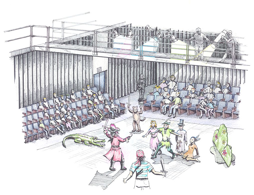 Theater-Rendering