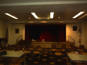Fellowship Hall before